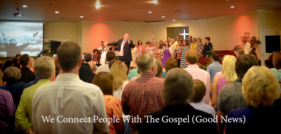We Connect People With The Gospel (Good News)